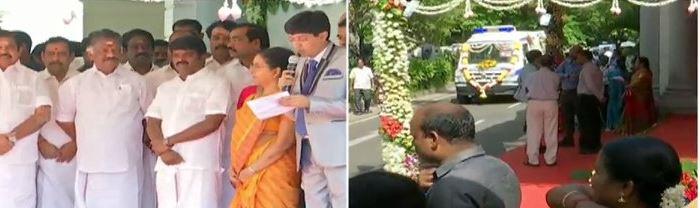 25 புதிய ஆம்புலன்ஸ் சேவையை துவக்கினார் முதல்வர் பழனிசாமி
